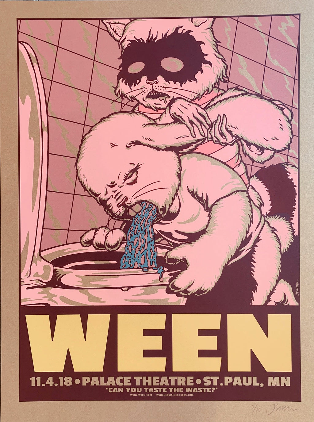 WEEN St Paul 11.04.18 vomit 7/25