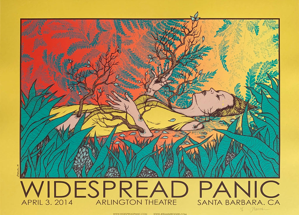 Widespread Panic 4.3.14 Santa Barbara 2/6
