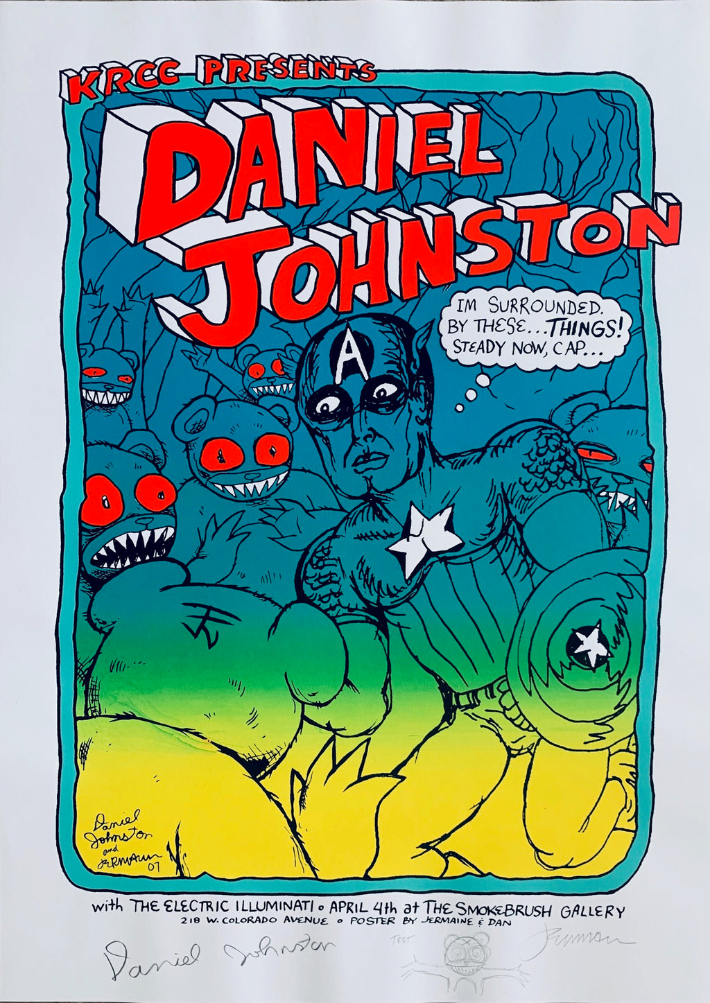 Daniel Johnston TEST