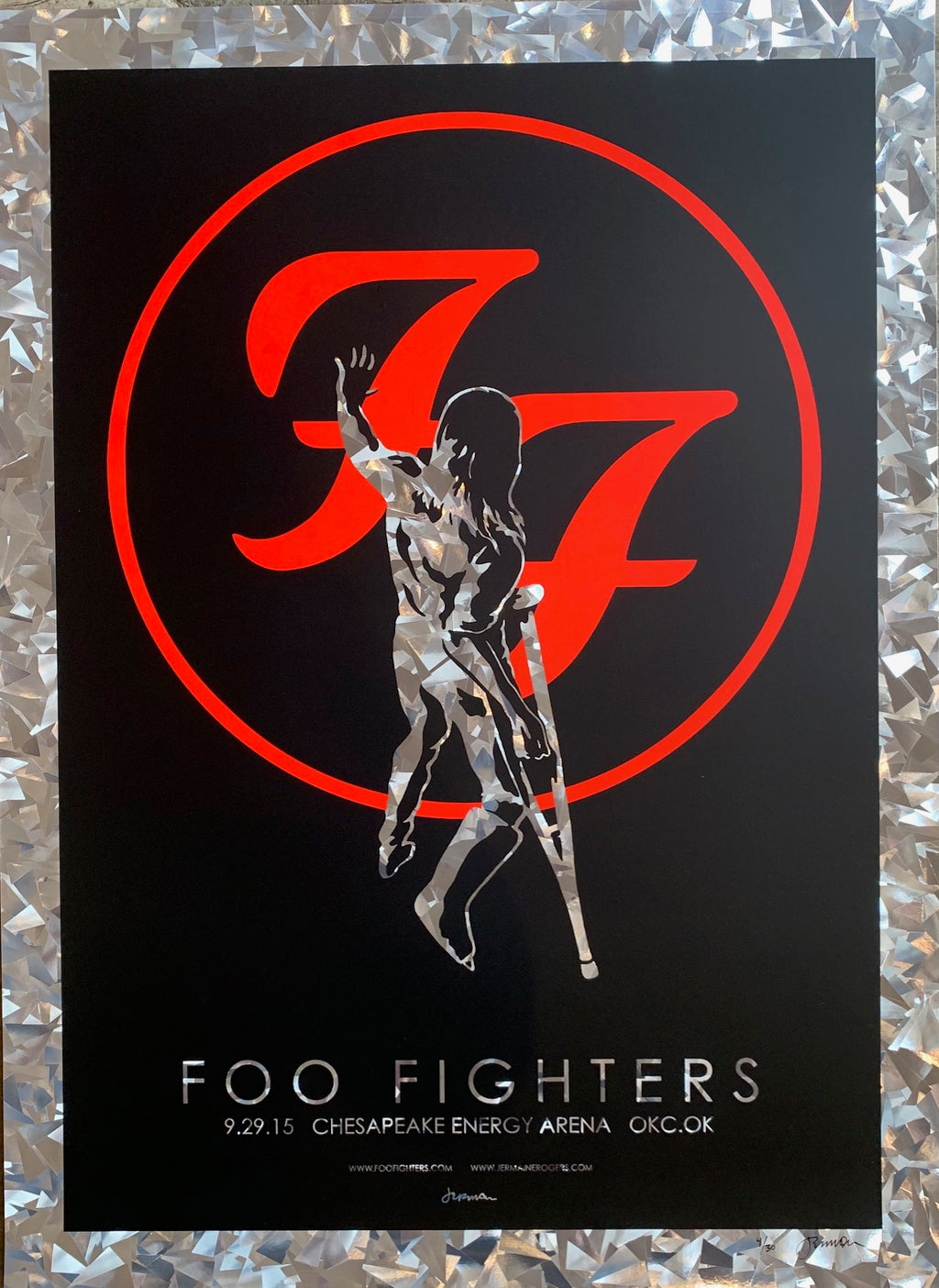 Foo Fighters 9.29.15 OKC 4/30