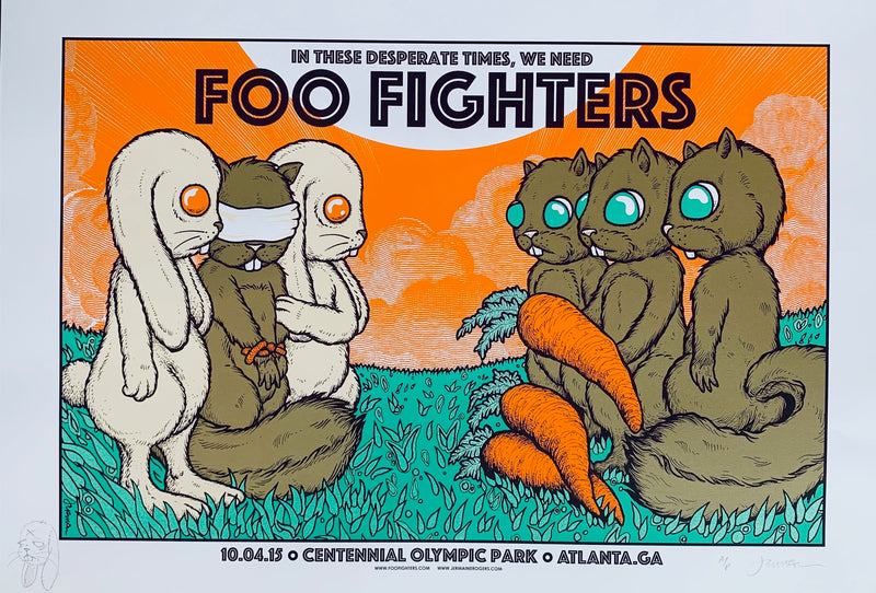 Foo Fighters 10.04.15 exchange A/P