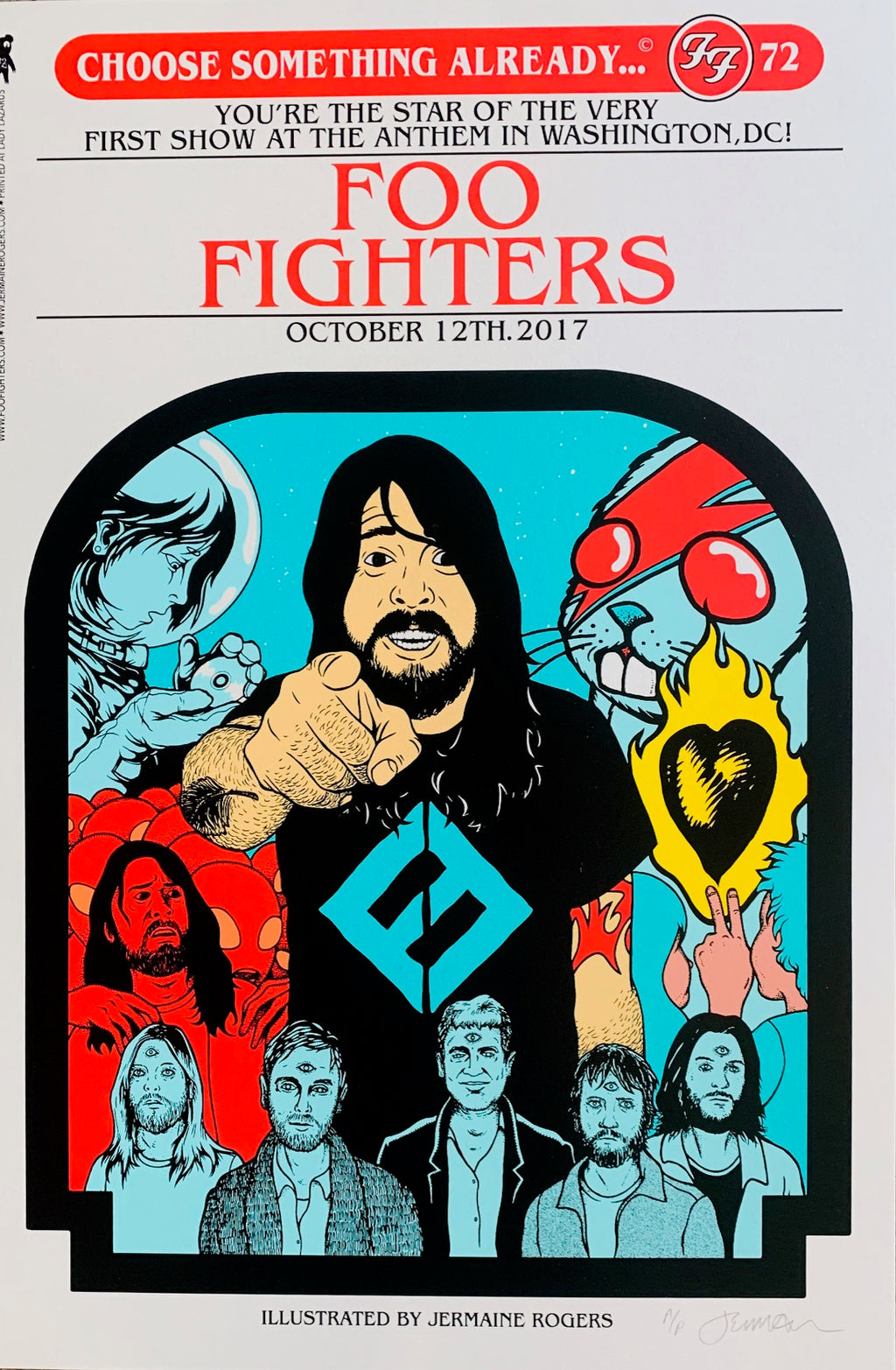 Foo Fighters DC 10.12.17 A/P