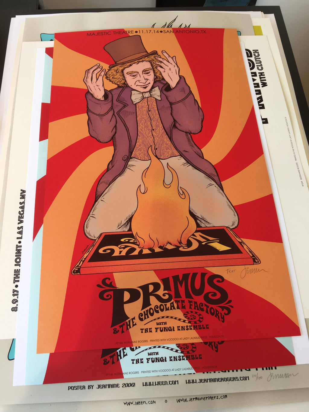 Primus & The Chocolate Factory - San Antonio, TX - 11.17.14 TEST