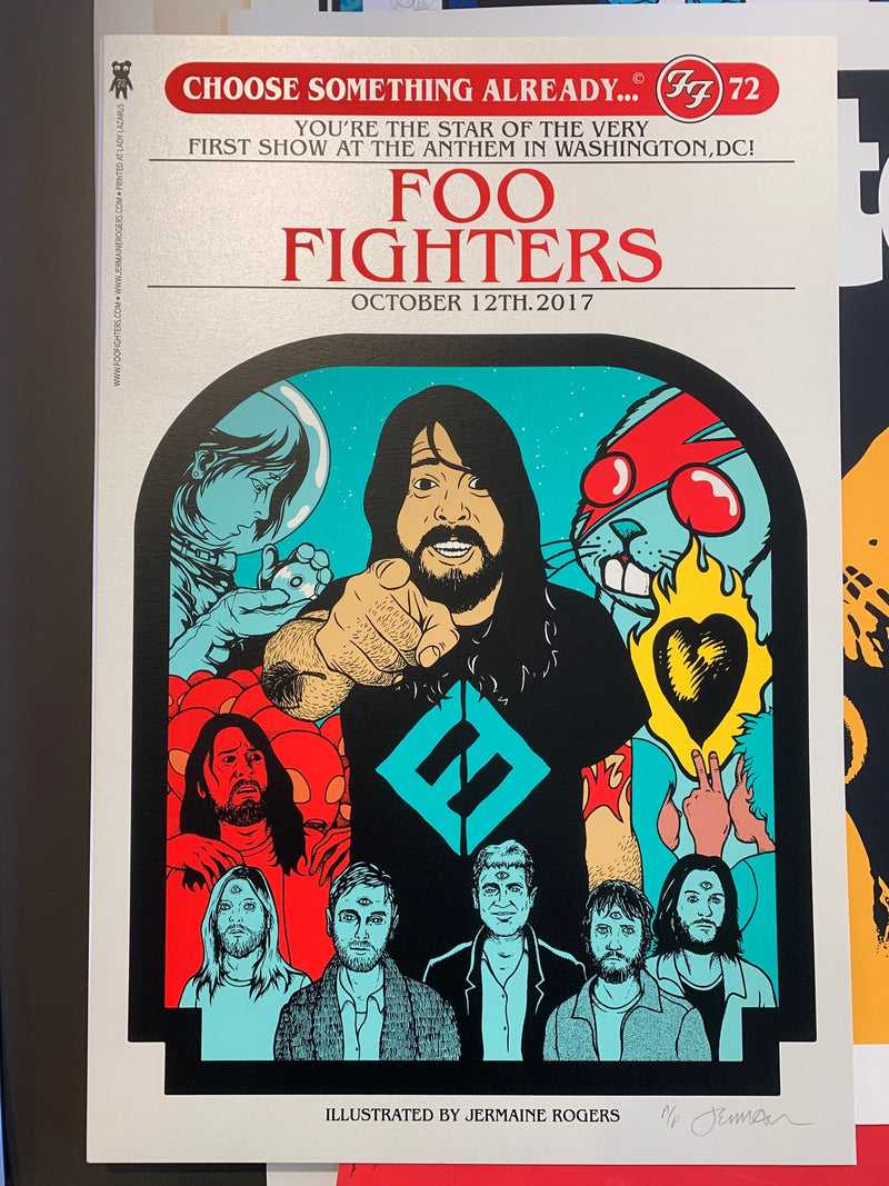 Foo Fighters, DC 10.12.17 A/P opal stardream