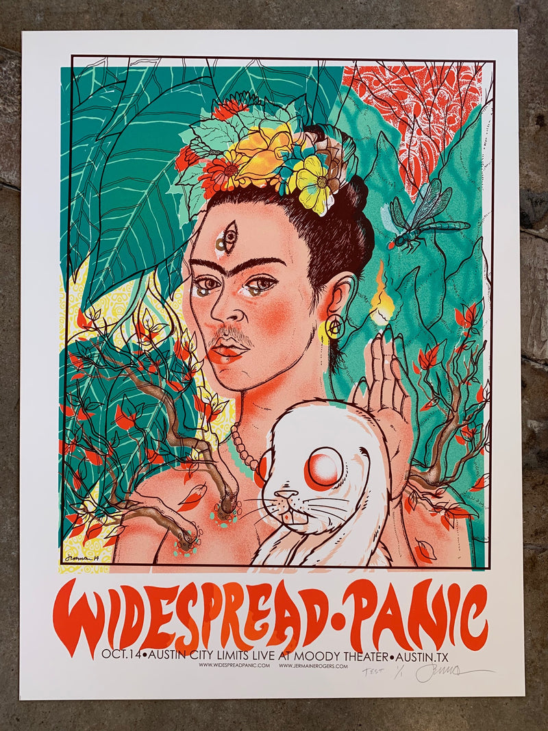 Widespread Panic - Austin, TX - 10.15.14 (Cosmic Daughter Graphic) Bar Room TEST