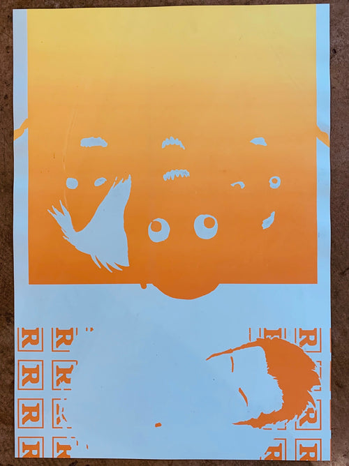 Muse - Oakland, CA/ ART IS DEAD double sided TEST print