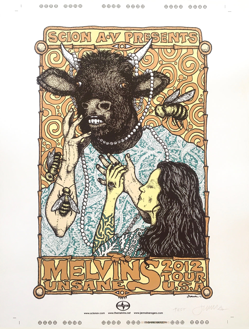 Melvins 2012 USA Tour TEST