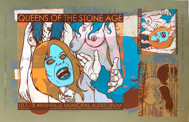 QOTSA Voluptuous Servants of the Rock & Roll Magick TEST