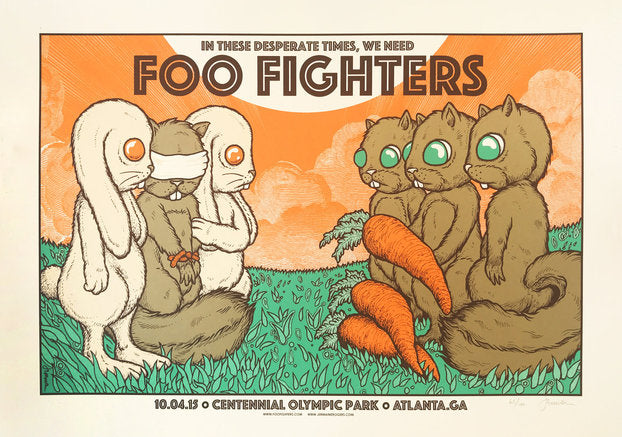 Foo Fighters - Atlanta, GA - 10.04.15 (The Exchange) 65/100