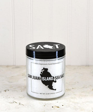 San Juan Island Sea Salt - Sea Salt Jar 6oz