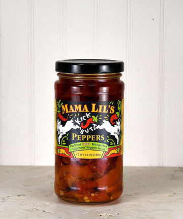 Mama Lil's - Kick Butt - Hot Pickled Peppers in Oil