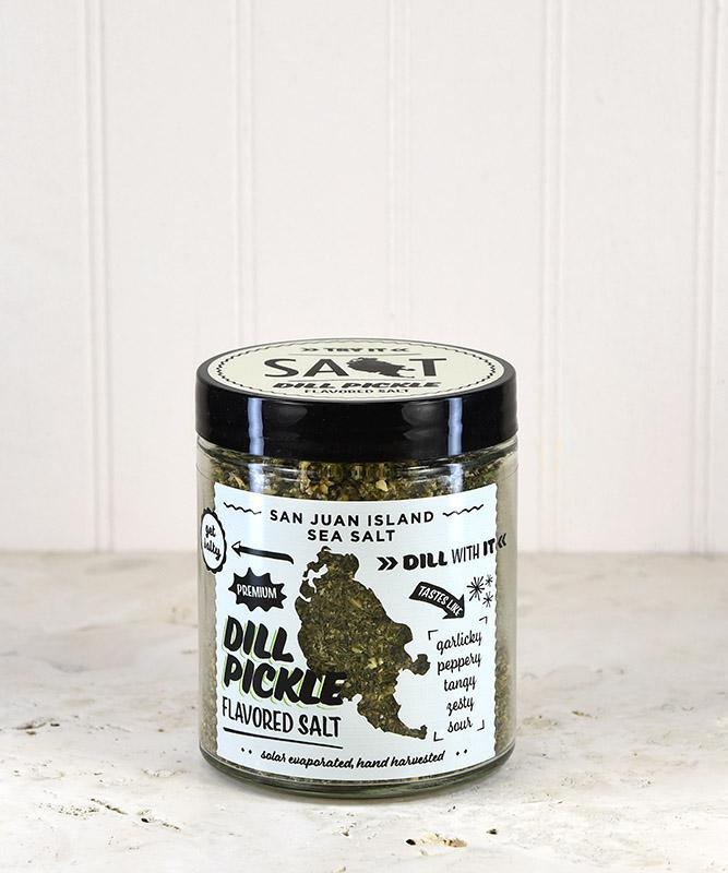 San Juan Island Sea Salt - Dill Pickle Flavored Salt