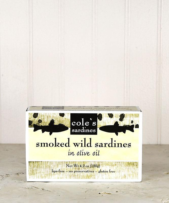 Cole's Sardines - Smoked Sardines in Olive Oil