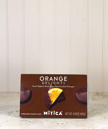 Mitica - Orange Delights Dark Chocolate Candied Oranges