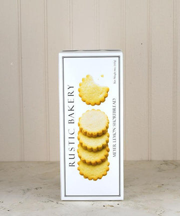 Rustic Bakery - Meyer Lemon Shortbread