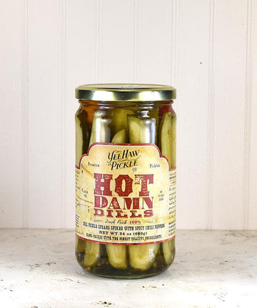 Yeehaw Pickle Co. - Hot Damn Dills