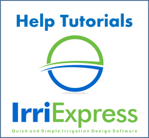 IrriExpress Adding a Pipe - Help Tutorial