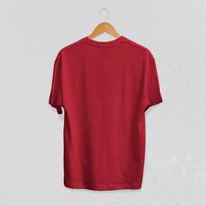 Anxious But Courageous Tee in Red