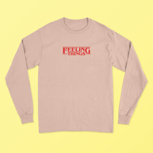 Feeling Things LS T-Shirt - Stone