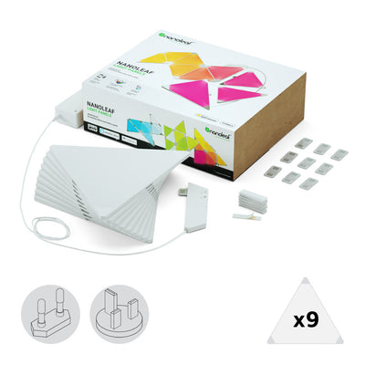 Nanoleaf Light Panels Smarter Kit (9 Panels)