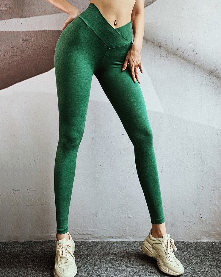 High Waist Elastic Fitness Gym Yoga Leggings