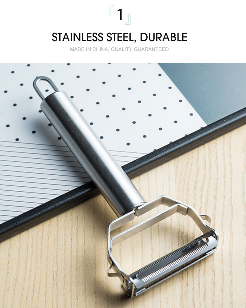 Stainless Steel Multi-function Vegetable Peeler&Julienne Cutter Julienne Peeler Potato Carrot Grater