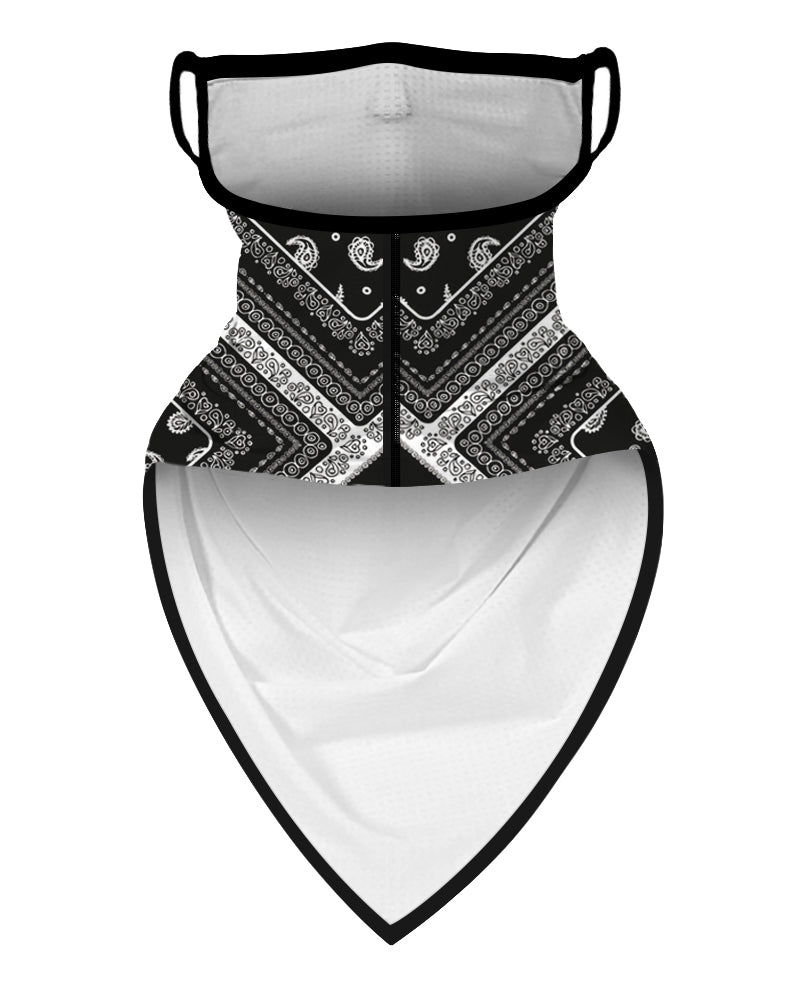 Print Breathable Ear Loop Face Cover Bandana Outdoor
