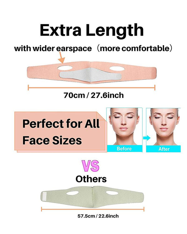 Extra Length Double Chin Reducer