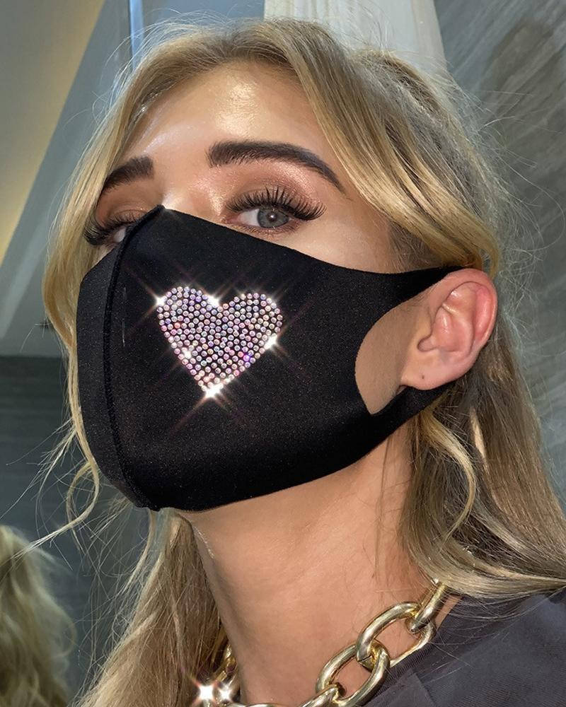 Hot Drilling Outdoors Breathable Face Mask