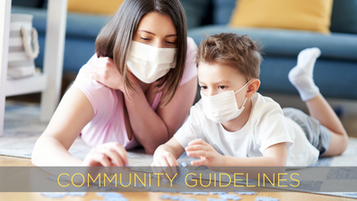 The Safe at Home PPE Community Guidelines