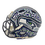 Casco Mini Riddell NFL - Seahawks