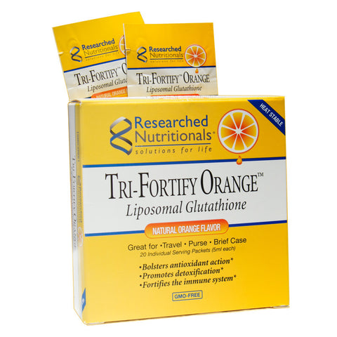 Tri-Fortify Glutathione Packets- Orange