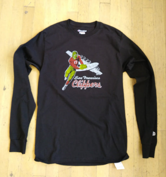 San Francisco Clippers Football Long Sleeve T-Shirt