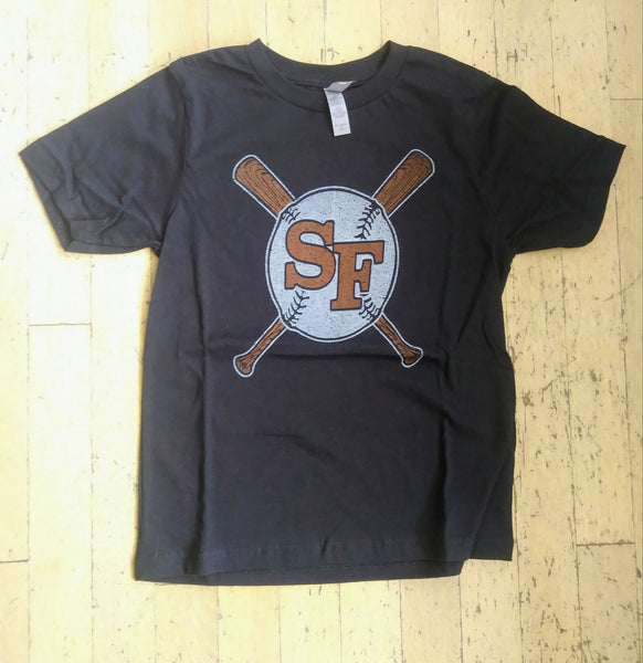 SF Vintage Baseball T-Shirt - Youth