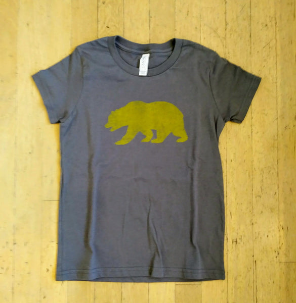 California Bear T-Shirt - Youth