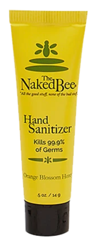 Naked Bee Sanitizer 0.5 oz.