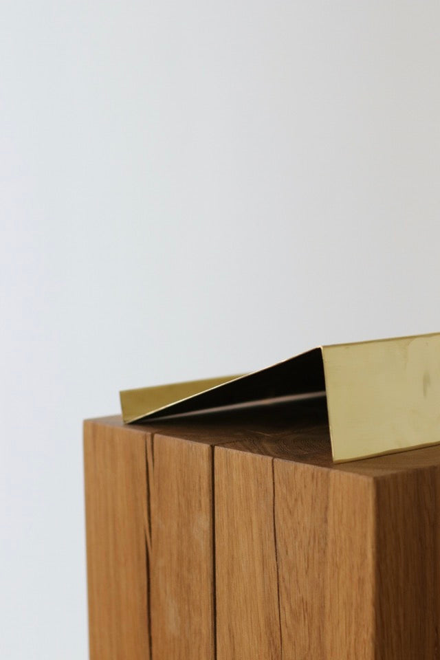 Brass bookstand - For Beta-Plus Publishing