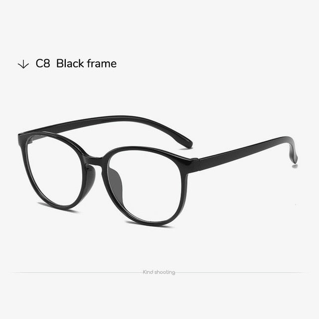 Toketorism plastic frame blue light glasses
