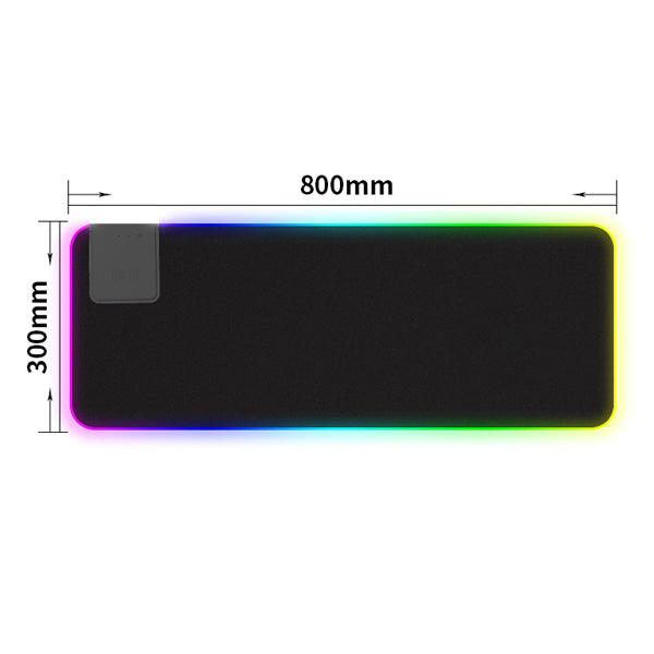 Gaming Mouse Pad RGB Large With wireless charger