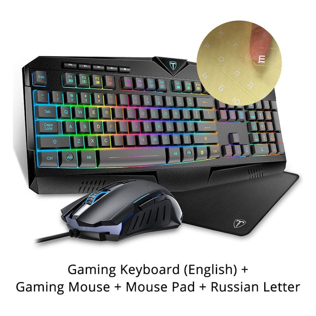 VicTsing PC264 Gaming Keyboard And Mouse Set