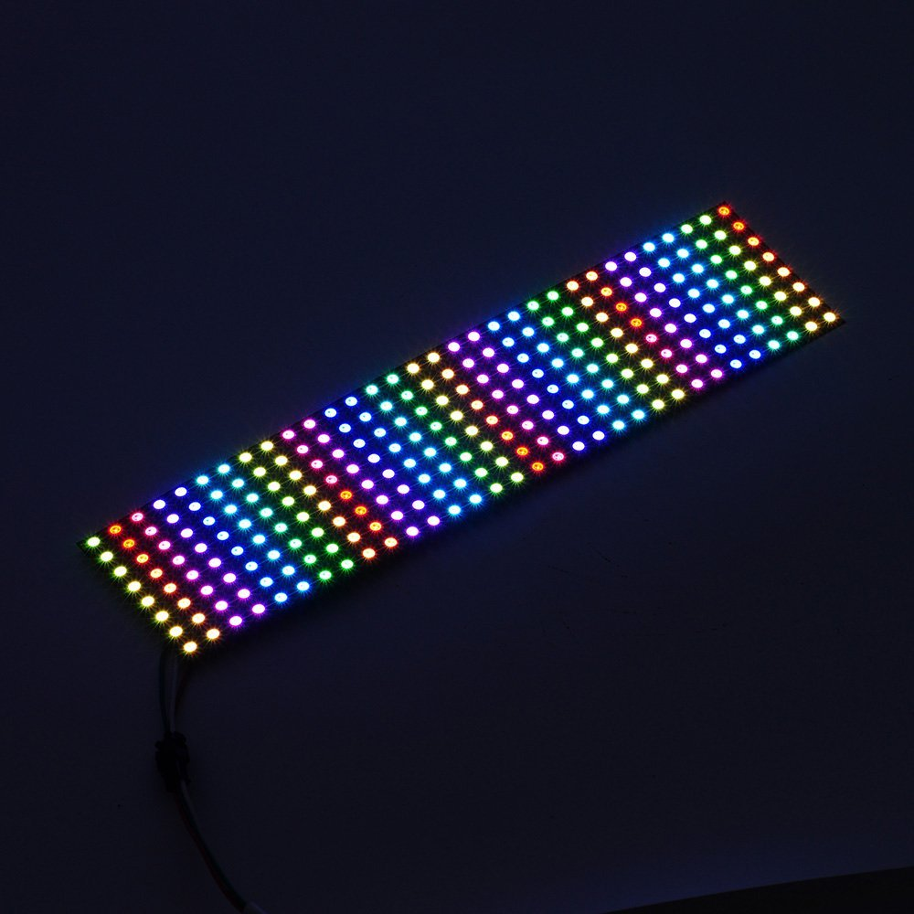 Panel 256 pixel LED Programmed  WS2811 SMD 5050