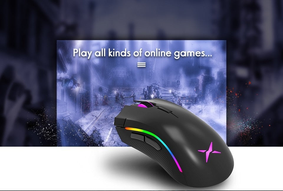 Deluxe m625 Gaming mouse 12000 dpi