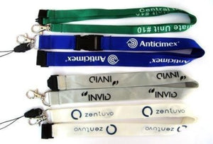 Printed Nylon Lanyards 15mm Flat - Promotions Only Lanyards