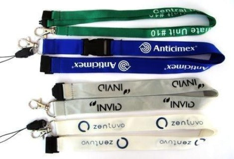 15mm Printed Nylon lanyard - Promotions Only Lanyards