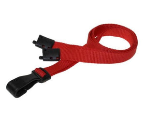 Plain Red Lanyards 10mm Essential Range - Promotions Only Lanyards