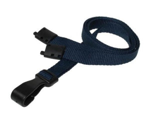Plain Dark Blue Lanyards 10mm Essential Range - Promotions Only Lanyards