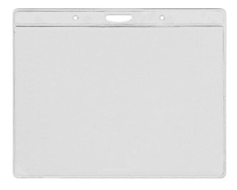 C006L Vinyl Clear Visitor Pass Holder 145 x105 mm, Landscape