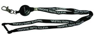 10mm Printed Retractable Lanyard
