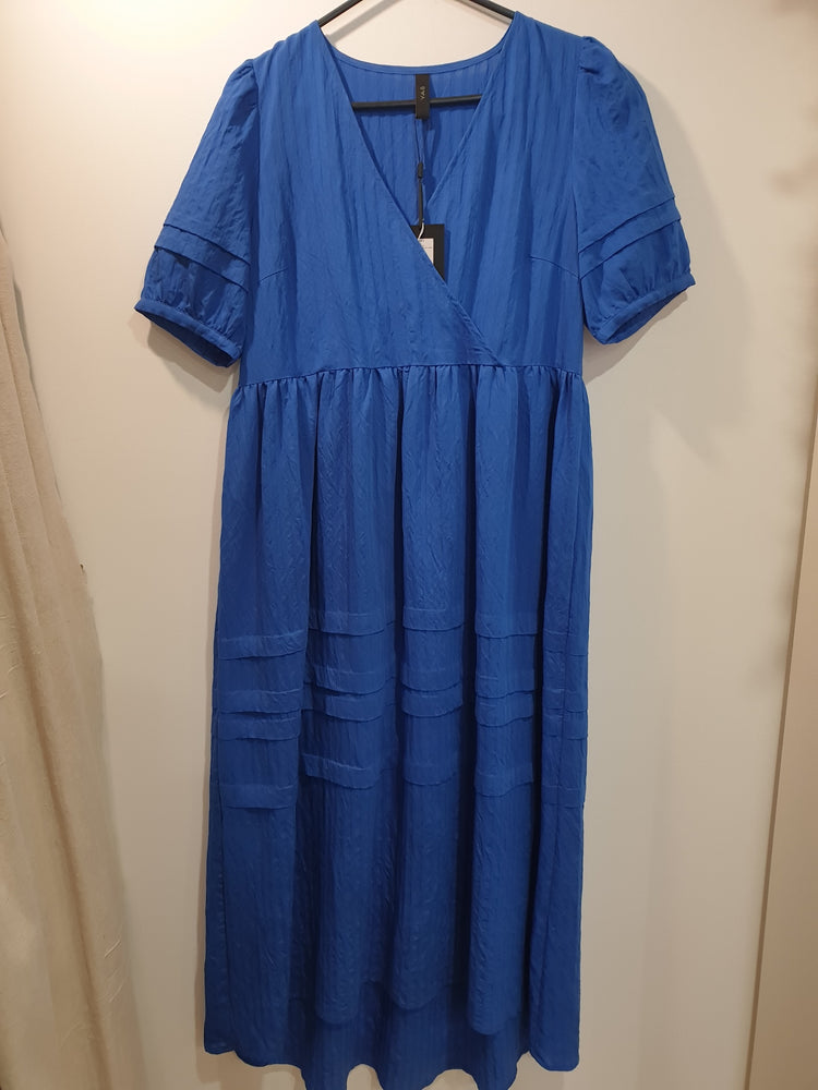 Blue organic cotton Maxi