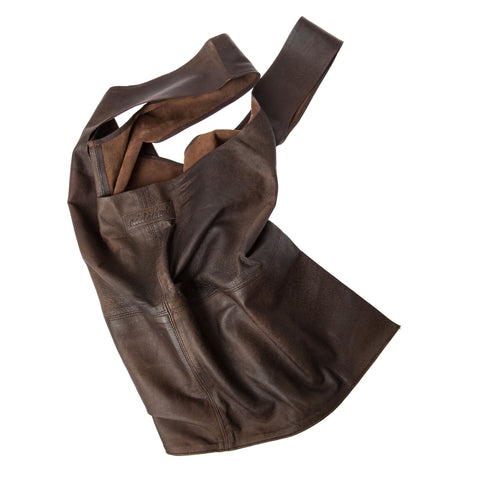 Weekend Big Soft leather bag-Vintage Brown